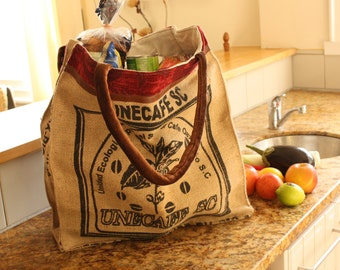 Shopping Tote - Hand made