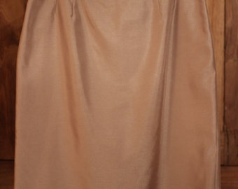 Le Suit, Champagne-Colored Skirt, Formal