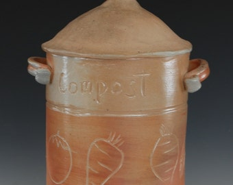Ceramic Compost Pot