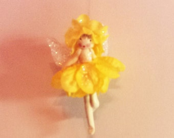 Fairy, flower fairy, hanging fairy, Flying fairy