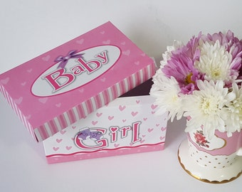Baby Girl gift box, arrival anouncement