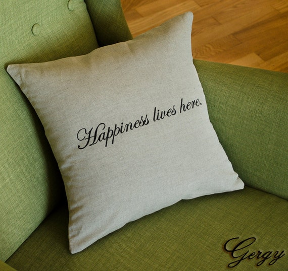 Decorative Throw Pillows With Words : Decorative pillow with words