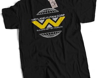 Weyland-Yutani Mens Premium T-Shirt Inspired by Alien Choice of 12 Colours Small to 2XL