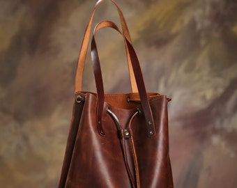 Leather bag. Handmade. leather tote bag, women leather bag, leather shoulder bag