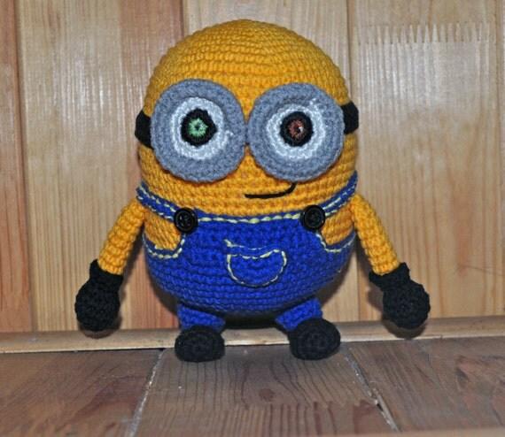 Amigurumi Minion Bob : crochet Minion Bob / Minion / Minion amigurumi by VictoriaYevl