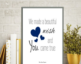 Birth gift baby boy, Baby boy nursery, Nursery decor wall art, Nursery art boy, Quote baby, Poster quote, Baby love poster, Baby boy decor