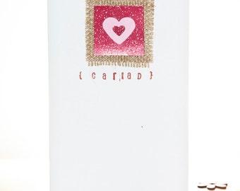 Cariad Birthday/Valentines Card