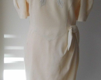 Vintage 1950s dress by Mansfield of London size 14
