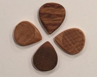 Wooden Jazz Guitar Picks