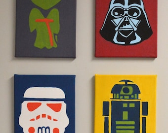 Star Wars Canvas Paintings