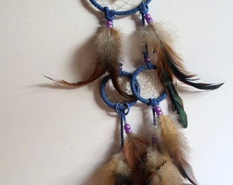 Josephine Dreamcatcher with Amethyst Crystals