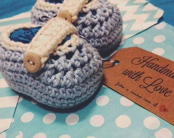 Baby shoes baby infant crochet crocheted baby booties