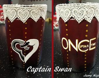 Captain Swan Jar