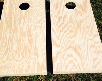 Plain unfinished Cornhole boards. Non Painted