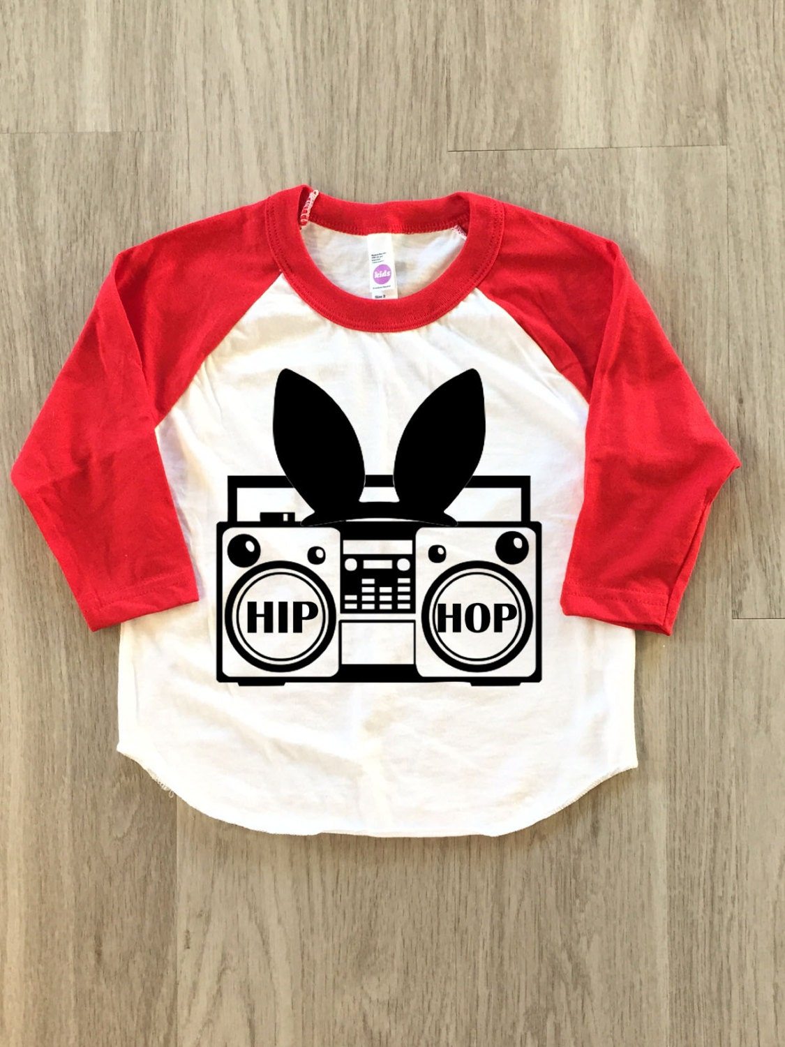 Hip Hop Boom Box Easter shirt baby boy or girl clothes