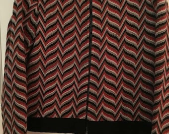 A hand tailored copy of a MISSONI jacket size 42 S