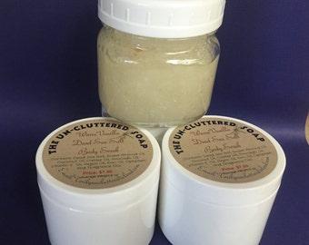Warm Vanilla Dead Sea Salt Body Scrub