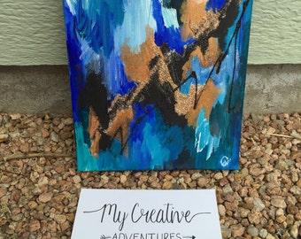 Abstract Home Decor Painting