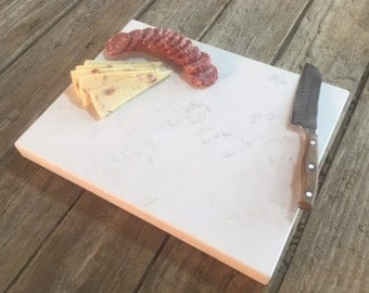 Quartz Cutting Board - Better than Granite or Marble! Perfect as a cheese board, cold stone or hot stone