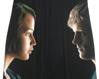 Katniss & Peeta Hunger Games T-Shirt Drawstring Sweat Skirt