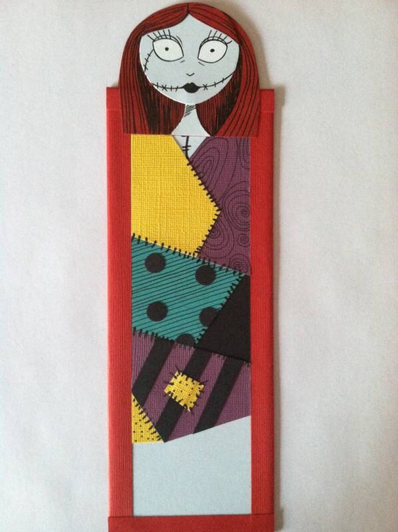 Nightmare Before Christmas Sally Bookmark