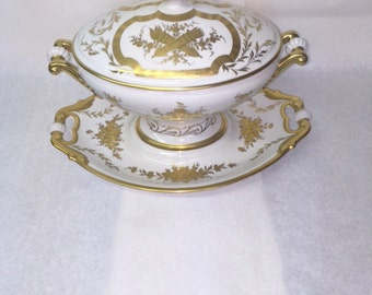 Limoque Tureen and Platter