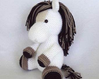 Charlie the Crochet Stuffed Horse
