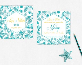Marriage and country stationery announcements