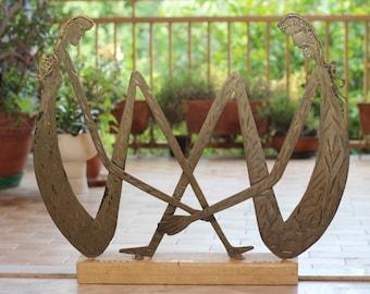 Forever (iron/iron sculpture sculpture)