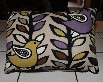 New Partridge Retro Cotton Polyester Throw Pillow 15X20 SC3294