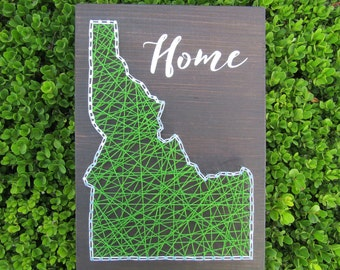 Idaho State String Art *Made-to-Order*