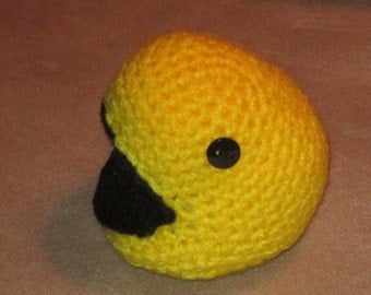 Stuffed Pac-Man, Pac-Man plushie, Toy Pac-Man, Arcade Pac-Man stuffed animal