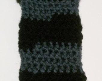 Crochet Batman phone case version 2