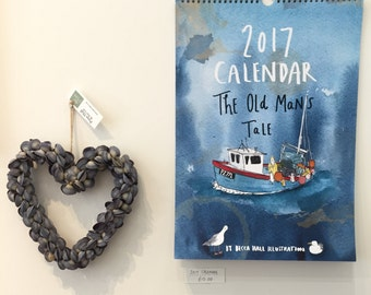 SALE! 2017 Calendar (A3)