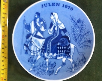 Vintage Limited Edition Plate