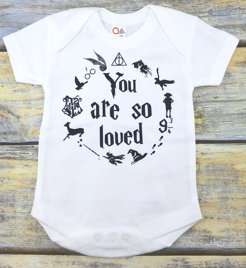 Baby Onesie You Are So Loved Onesie Harry Potter Inspired