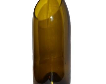 Angle Cut Wine Bottle Vase