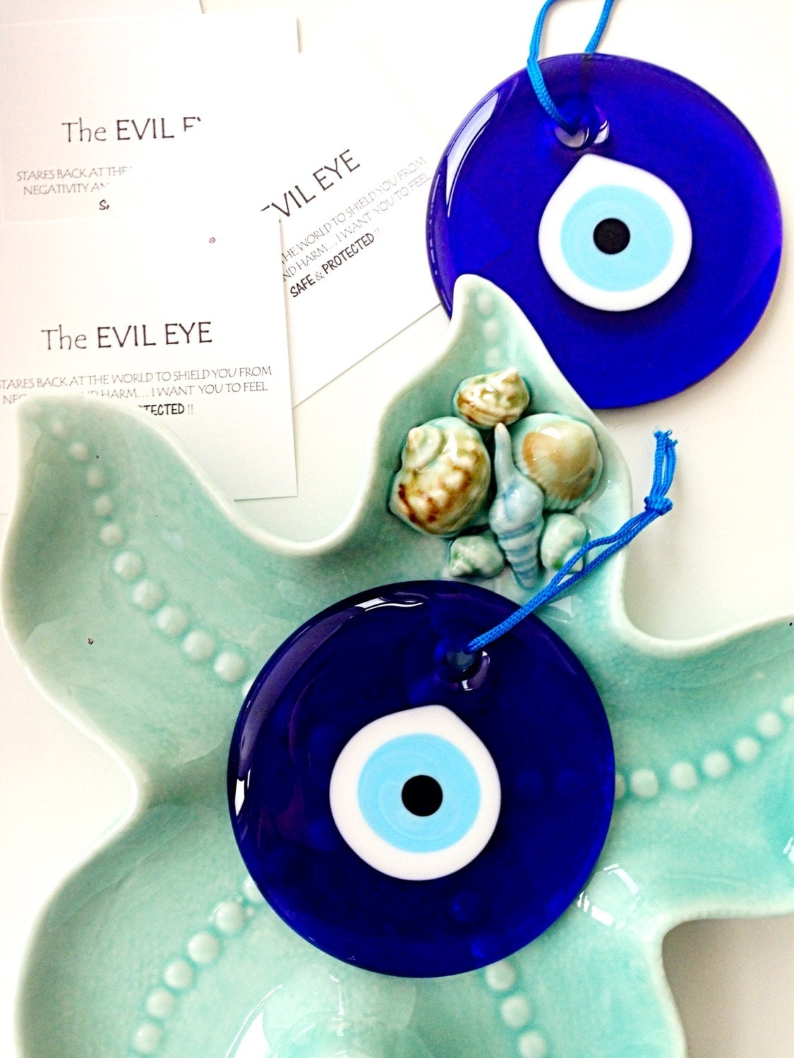Evil eye bead 10cm evil eye wall hanging evil eye charm zoom amipublicfo Gallery