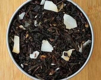 Toasted Coconut Loose Leaf Tea & Hand Filled Tea Bags