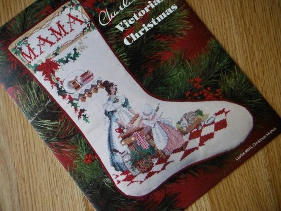 vintage personalized keepsake christmas stocking pattern