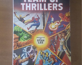 Vintage Mighty Marvel Team-Up Thrillers Paperback, Marvel Comics #1