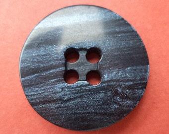 9 dark blue buttons 21mm (6519) button blue