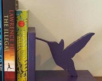 Hummingbird Bookends