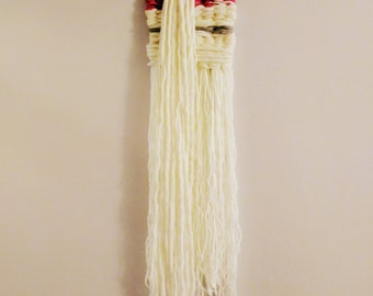 SALE ** Woollen Hand Woven Wall Hanging - Milly