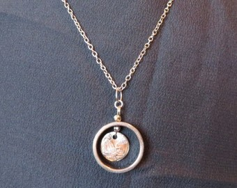 Alabama Quarter Necklace