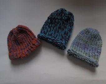 Knit Baby Hat / Handmade Baby Hat /