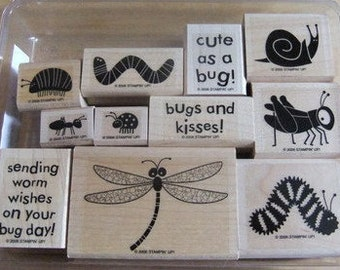 "Stampin' Up! ""Bugs and Kisses"" Stamp set"