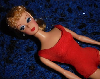 Barbie / 90s / / Vintage blonde Ponytail / Super-Collection-nine copies