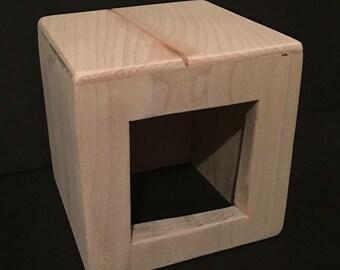 Custom Poplar Wood Snuggle Home