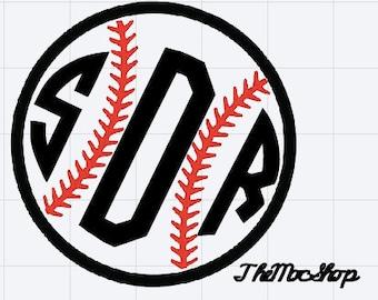 Baseball/Softball Monogram